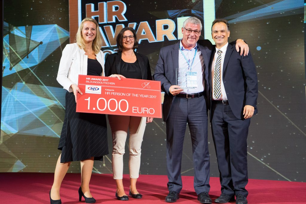 HR Person of the Year Überreichung