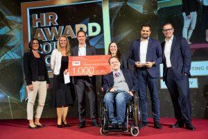 myAbility Social Enterprise mit IBM Gold Überreichung